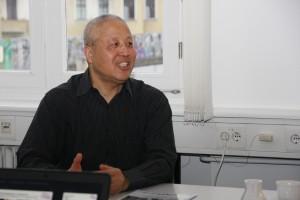 Übersetzung der Projektpräsentation in das Chinesische