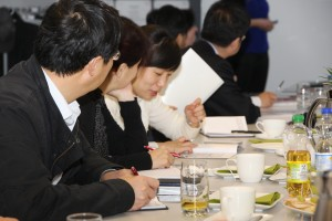 Chinesische Delegation zu Besuch im BNA